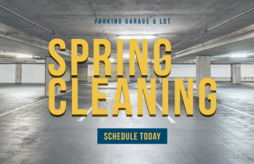 Spring cleaning for parking structures and garages