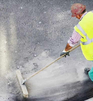 construction site clean up